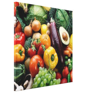 FRUIT  VEGETABLES CANVAS PRINT