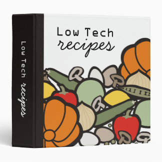 fruit vegetables healthy foods recipe binder