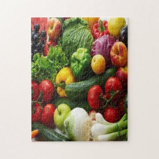 FRUIT & VEGETABLES JIGSAW PUZZLE