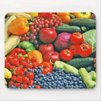 fruit & vegetables mouse pad