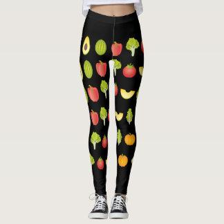 Fruit & Veggie Leggings