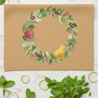 Fruit Wreath Kitchen Towel