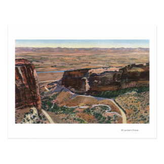 Fruita Canyon & Monument Rim Drive Postcard