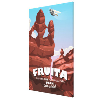 Fruita Capitol Reef National Park Utah Canvas Print
