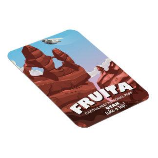 Fruita Capitol Reef National Park Utah Magnet