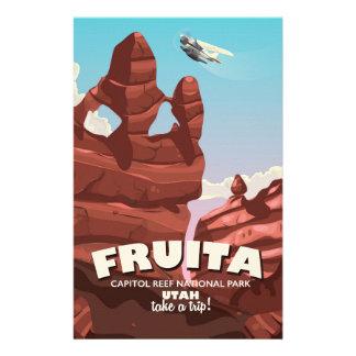 Fruita Capitol Reef National Park Utah Stationery