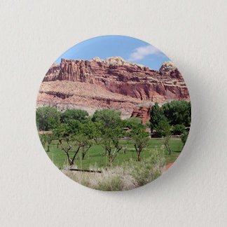 Fruita, Capitol Reef National Park, Utah, USA 2 2 Inch Round Button