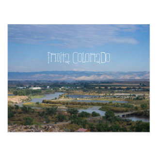 Fruita, Colorado from Dinosaur Hill Postcard