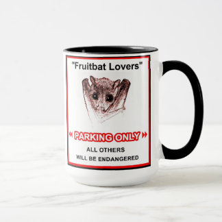 Fruitbat lovers mug