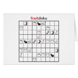 fruitdoku card