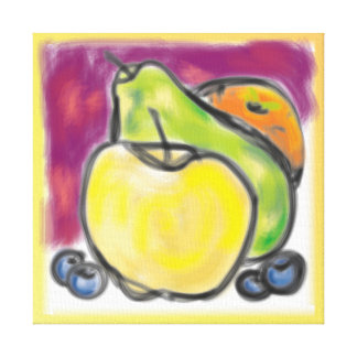 'Fruitful' 11x11 Premium Canvas (Gloss)