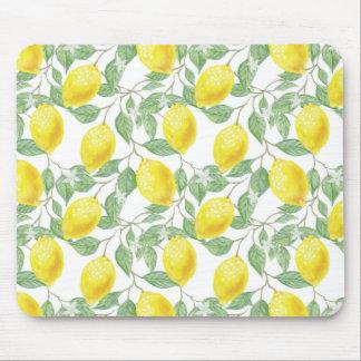 Fruiting Lemon Tree Mouse Pad