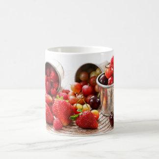 Fruits and berries coffee mug