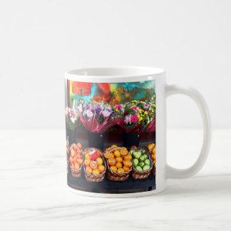 Fruits and Flowers Coffee Mug
