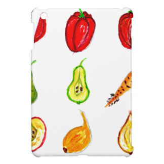 Fruits and Vegetables Art Case For The iPad Mini