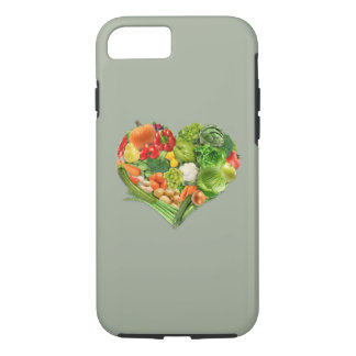 Fruits and Vegetables Heart - Vegan iPhone 7 Case