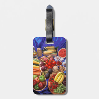 Fruits and vegetables luggage tag