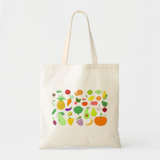 Fruits and Vegetables Tote
