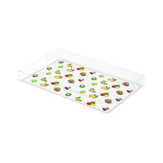 Fruits and Veggies Graphics Food Tray