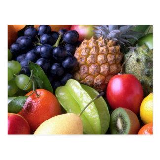 Fruits and Veggies postcard