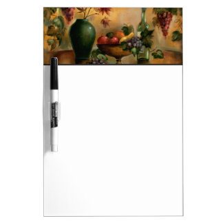 Fruits and Wine with Autumn Hues Dry Erase Board