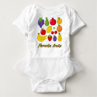 Fruits Baby Bodysuit