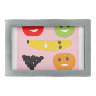 Fruits bag rectangular belt buckles