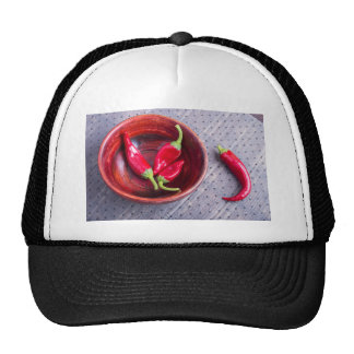 Fruits chilli hot red pepper trucker hat