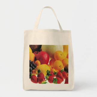 Fruits - Grocery Tote Bag