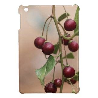 Fruits of a shiny leaf buckthorn cover for the iPad mini