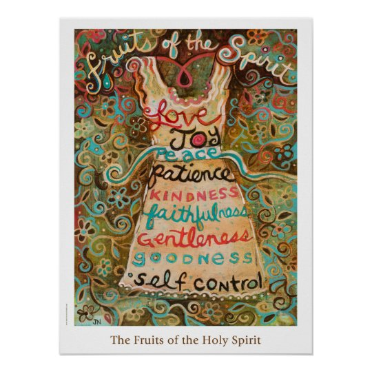 Fruits of the Holy Spirit Classroom Poster