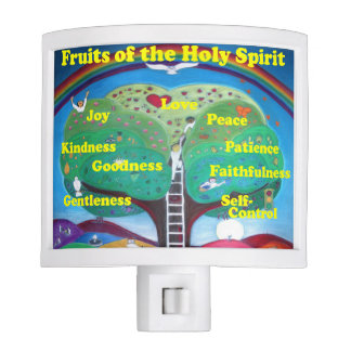 Fruits of the Holy Spirit Night Light