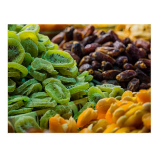 Fruits on a bazaar in Istanbul (Turkey) Postcard