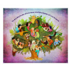 Fruits One Tree Poster