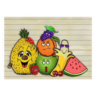 fruits only papershop gifts large business card