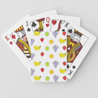 Fruits Pattern Poker Deck