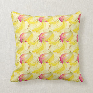 Fruits Pattern Throw Pillow