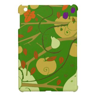 fruits stencil iPad mini cases