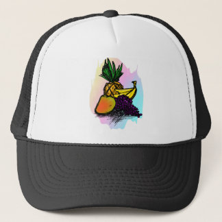 fruits trucker hat