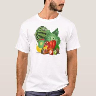 fruits vegetables artichoke banana T-Shirt