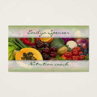 Fruits & Vegetables Healthy Life/Nutritionist Card