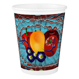 Fruits Vegetables Paper Cup