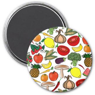 Fruits & Veggies magnet, large Magnet
