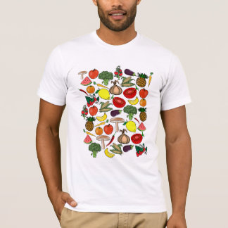 Fruits & Veggies shirt - choose style, color
