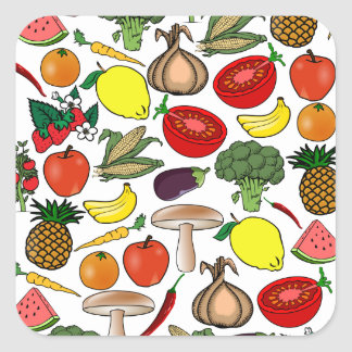 Fruits & Veggies stickers