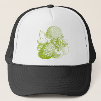 Fruits vintage food healthy retro trucker hat