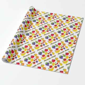 Fruits Wrapping Paper