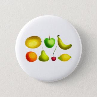 Fruity 2 Inch Round Button