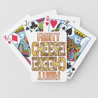 Fruity Blue Cheese Poker Deck