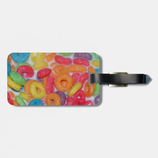 Fruity Cereal Luggage Tag